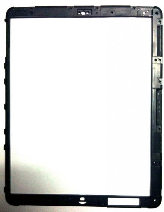 Moldura de iPad com espaço para iSight