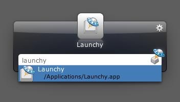 Launchy no Mac OS X