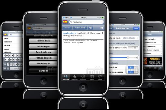 Michaelis Dicionário Conciso Espanhol em iPhones