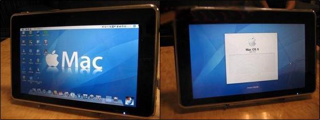 Tablet P88 rodando Mac OS X