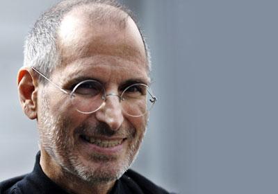 Steve Jobs sorrindo