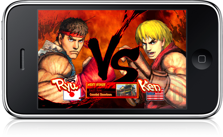 Street Fighter IV para iPhone