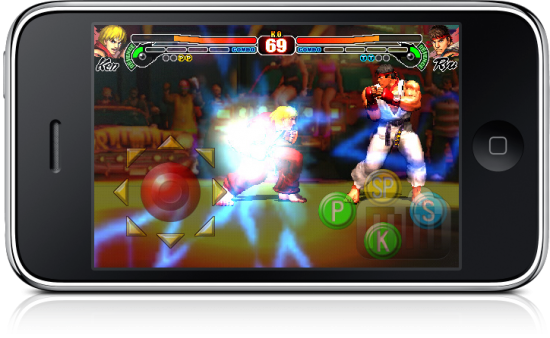 Street Fighter IV para iPhone