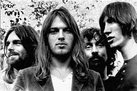 Membros da banda Pink Floyd