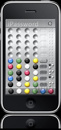 iPassword no iPhone