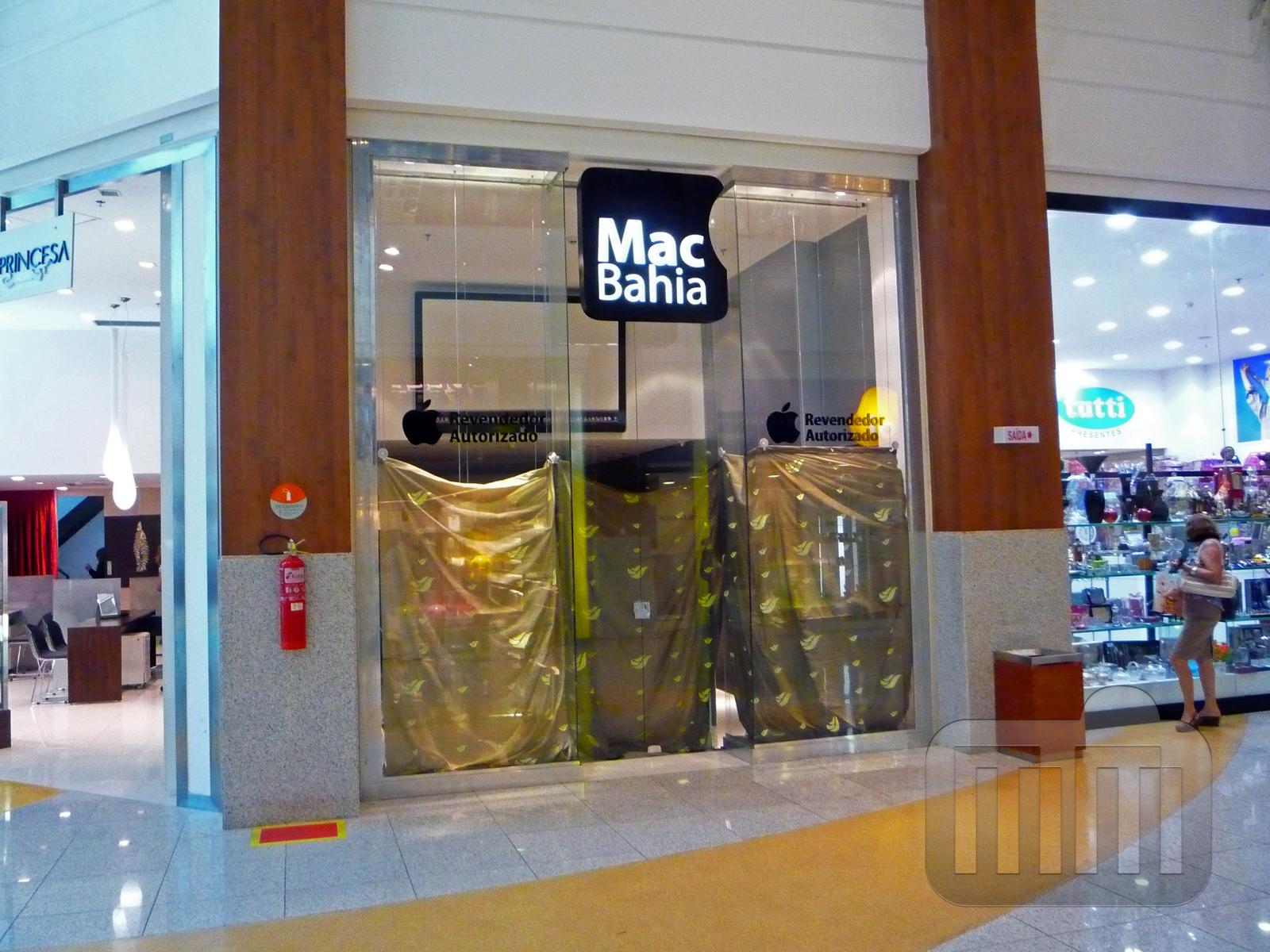 Loja da MacBahia no Salvador Shopping lacrada pela Polícia Federal