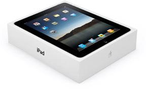 Caixa do iPad