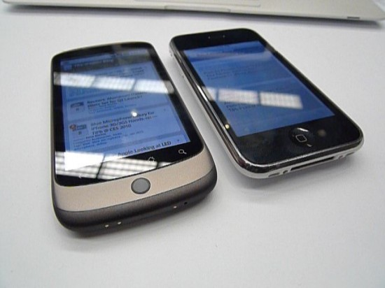 iPhone vs. Nexus One