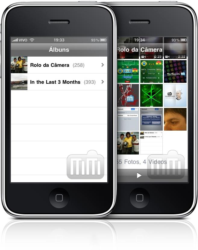 App Photos do iPhone