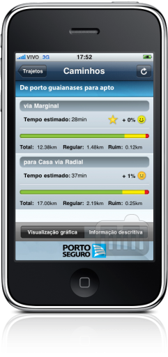 Porto Seguro no iPhone