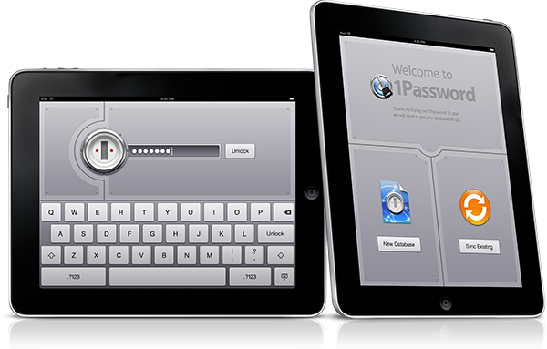 1Password para iPad