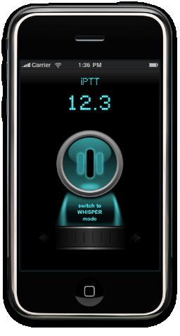 iPTT no iPhone