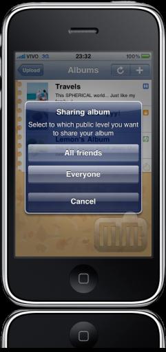 OrkUp no iPhone