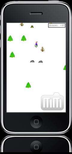 SkiFree! no iPhone