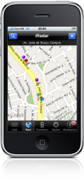 iRadar 4.0 no iPhone