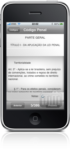 Vade Mecum no iPhone