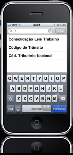 Vade Mecum no iPhone