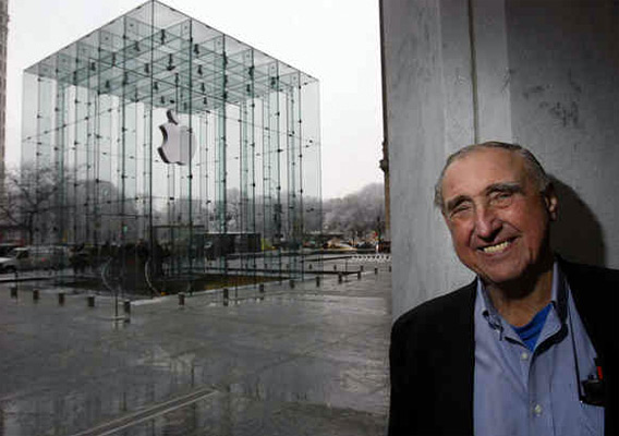 Peter Bohlin na Apple Retail Store NYC