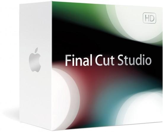 Caixa do Final Cut Studio (2009) HD