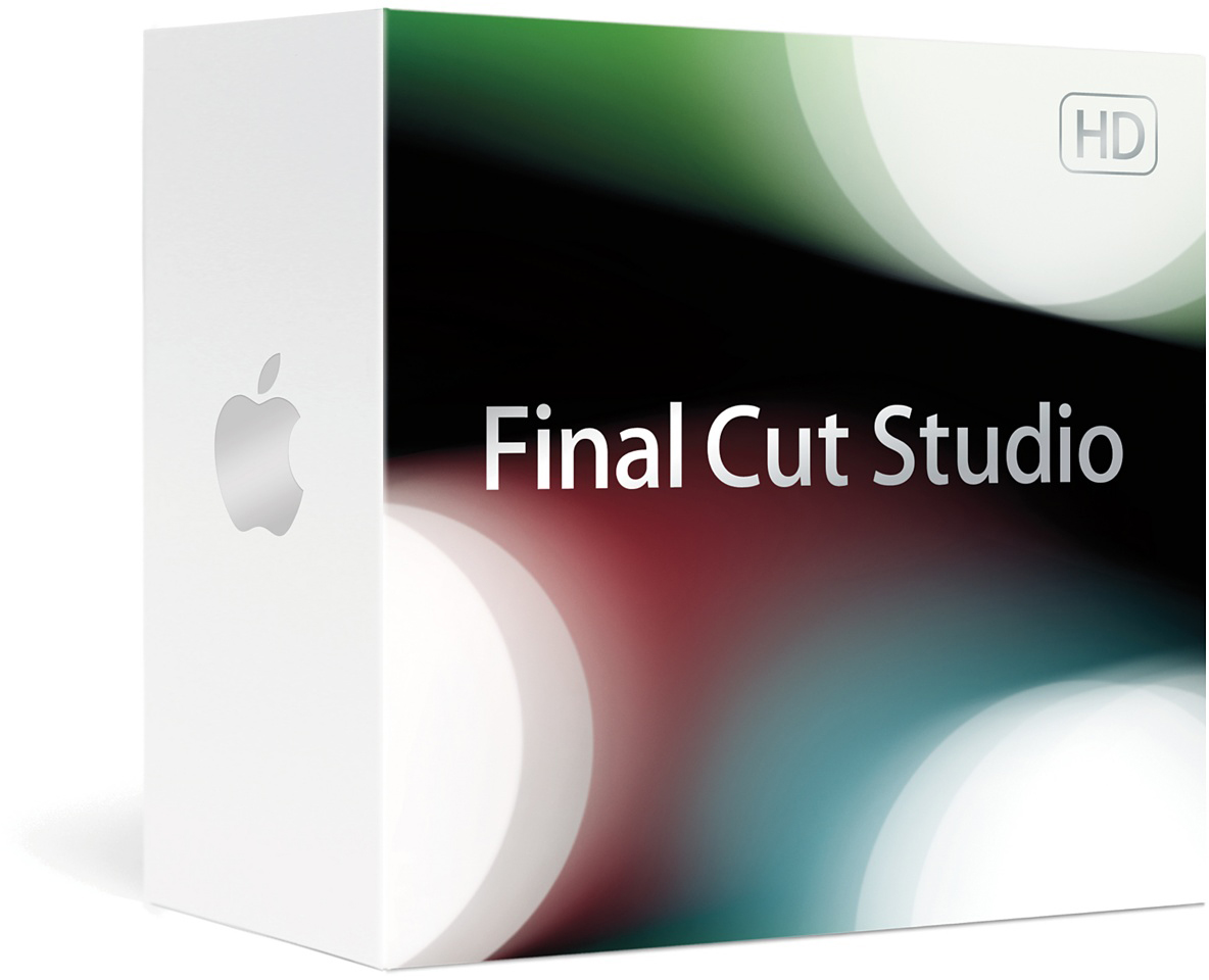Caixa do Final Cut Studio (2009) HD