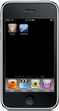 StyleTap no iPhone