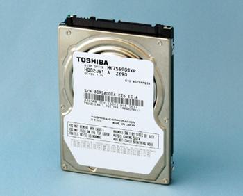 HD da Toshiba para notebooks