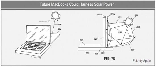 MacBooks retroiluminados pelo sol