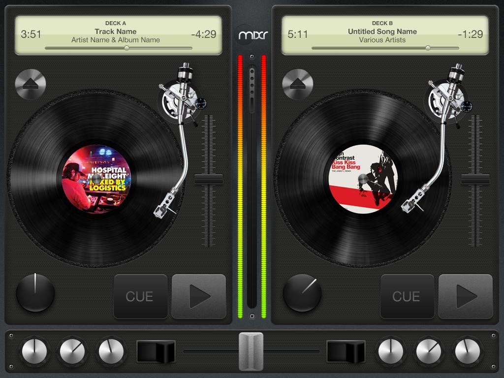 Mixr, DJ para iPad