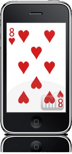 X-Card Trick no iPhone