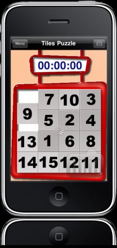Tiles Puzzle no iPhone