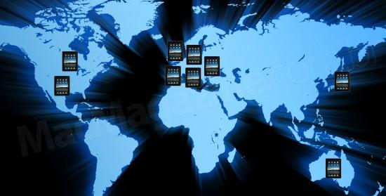Expansão internacional do iPad pelo mundo