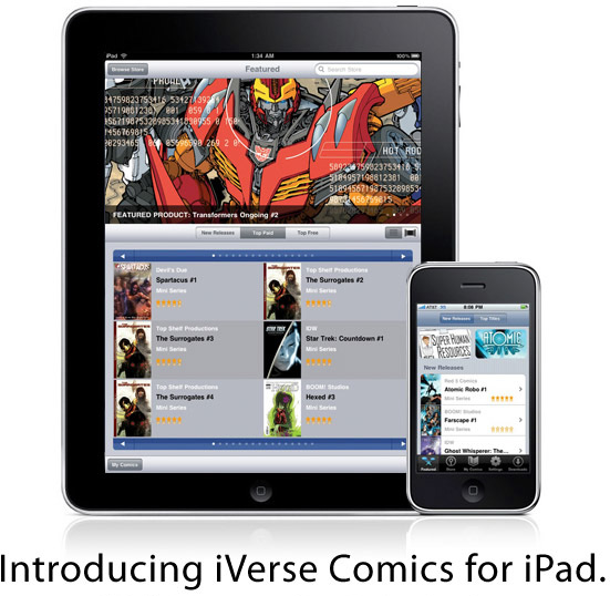 iVerse Comics for iPad
