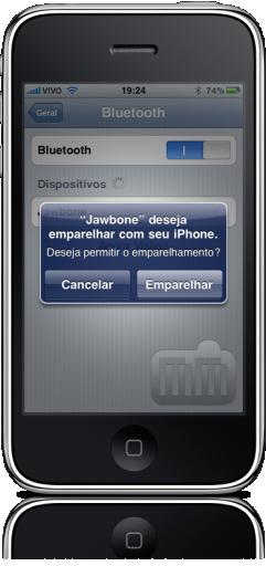 Jawbone 2 no iPhone