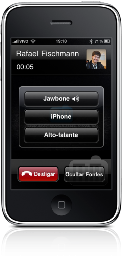 Jawbone 2 no iPhone