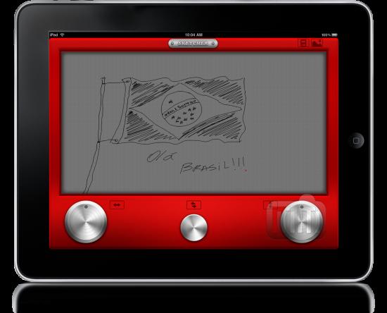 Sketcher HD no iPad