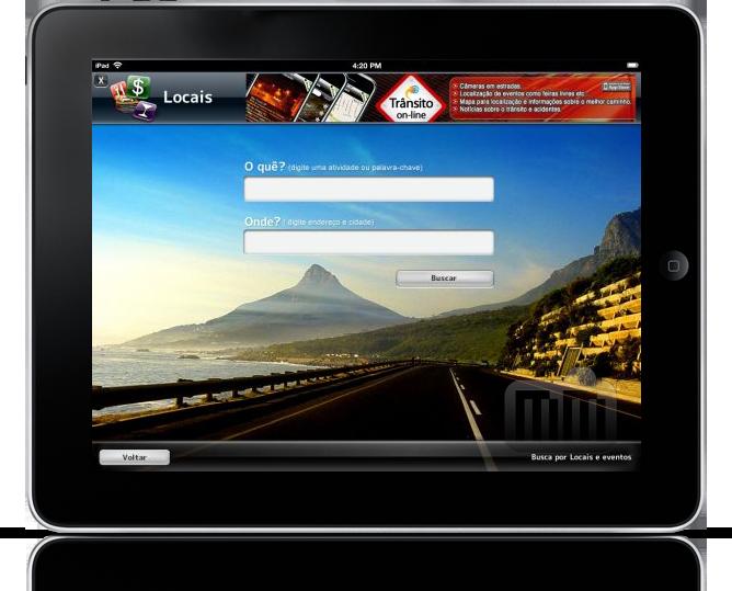 Apontador Local no iPad