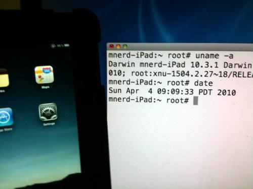 iPad jailbroken pelo MuscleNerd
