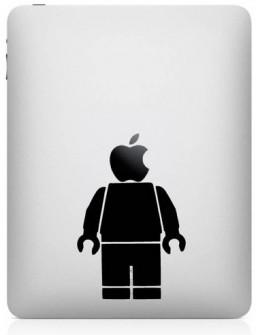 Adesivo na traseira do iPad