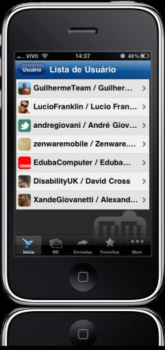 Twittero BR no iPhone