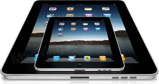 iPads - Maior e menor, um iPad nano