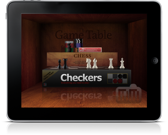 Game Table no iPad
