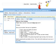 Gmail - Message Sneak Peek