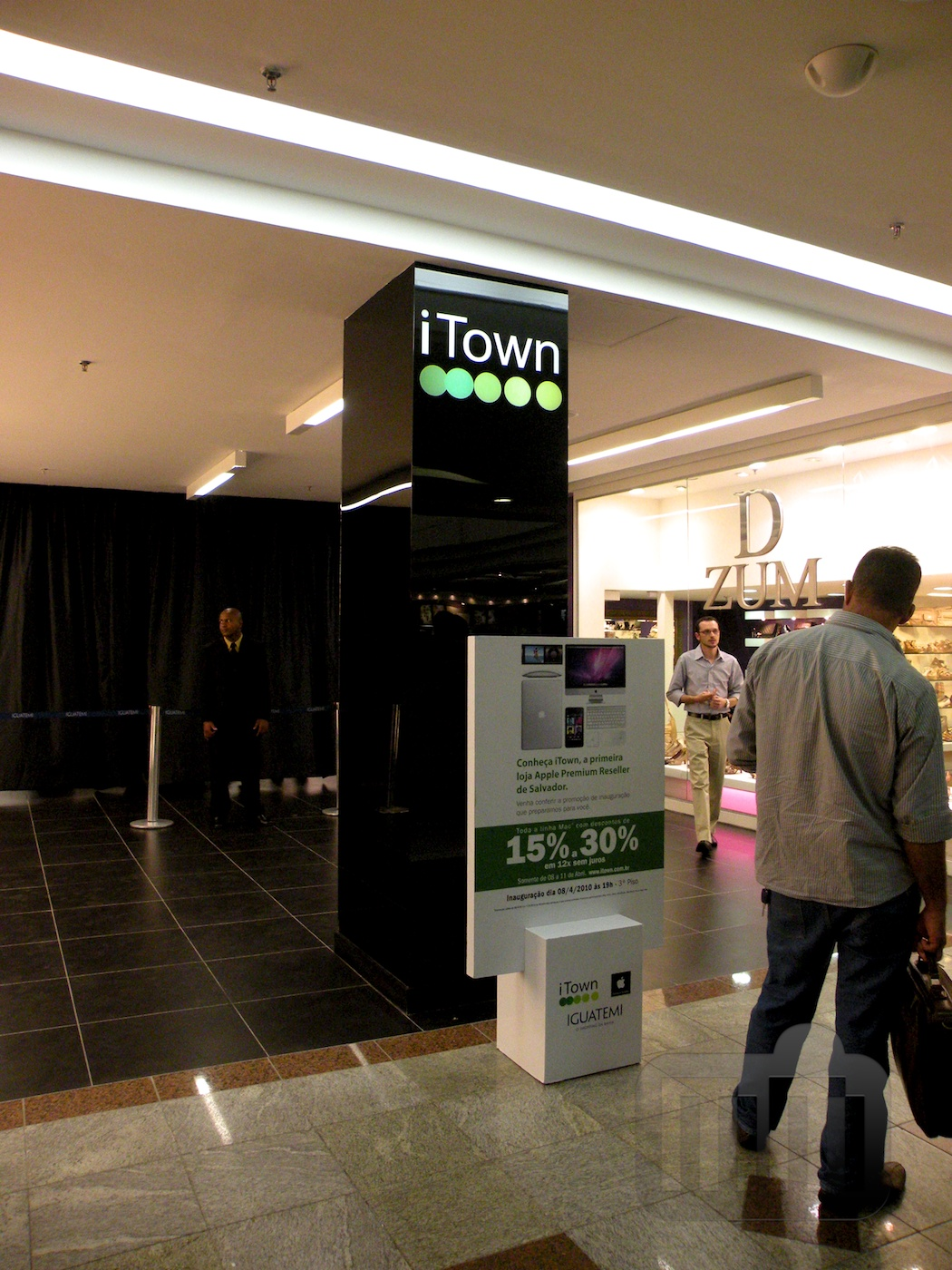 Inauguração da iTown, Apple Premium Reseller em Salvador