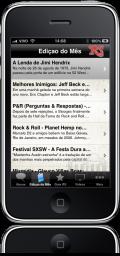 Rolling Stone Brasil no iPhone