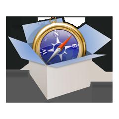 Ícone do WebKit2 (para miniaturas)