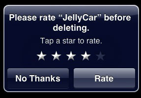 Classificação de apps após deletá-los no iPhone