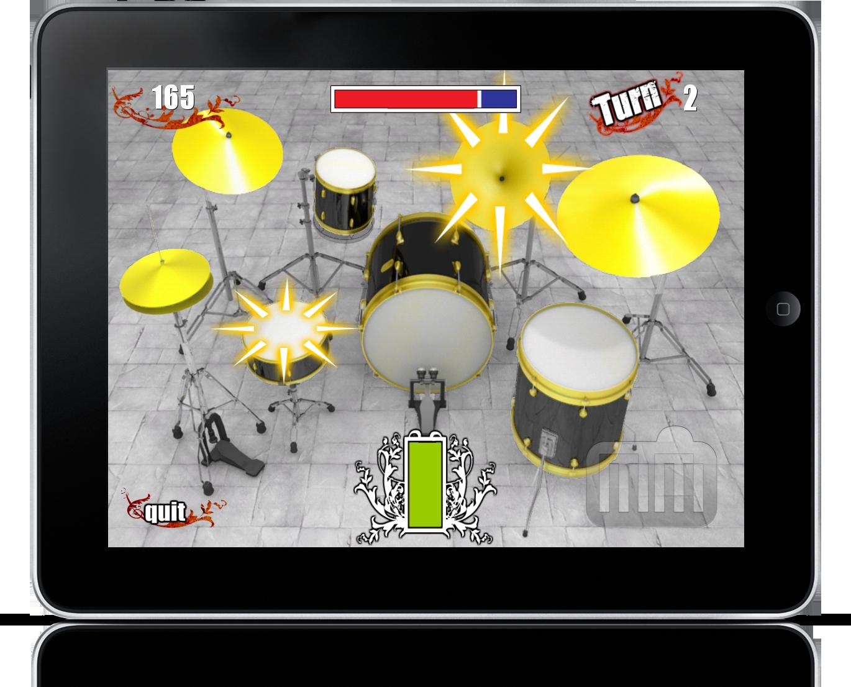 Drums Challenge HD no iPad
