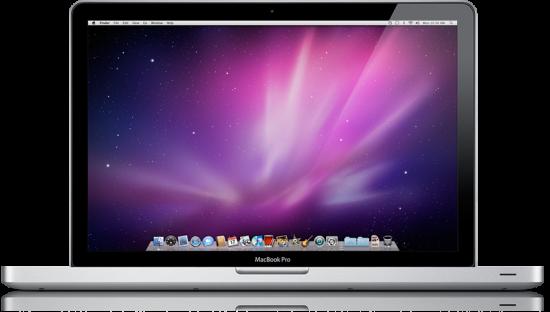 MacBook Pro de frente