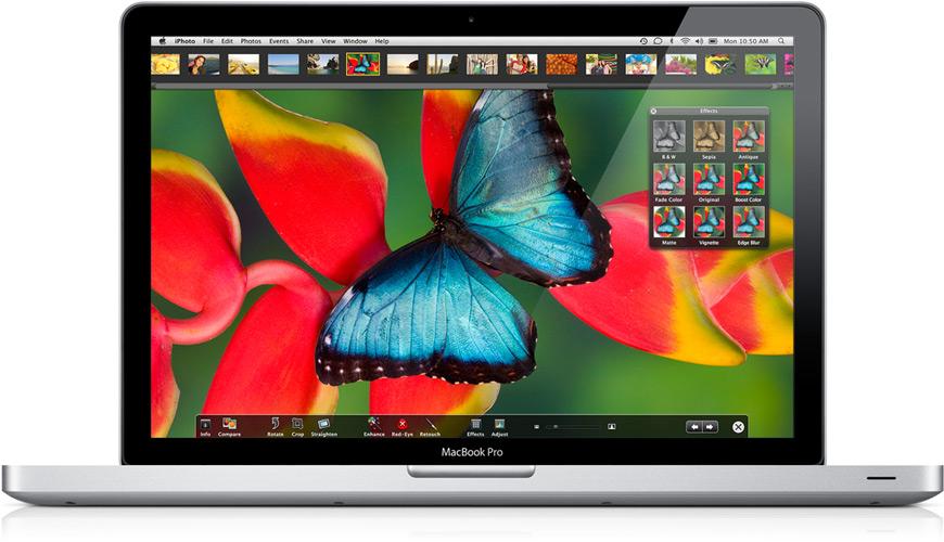 Gráficos nos novos MacBooks Pro