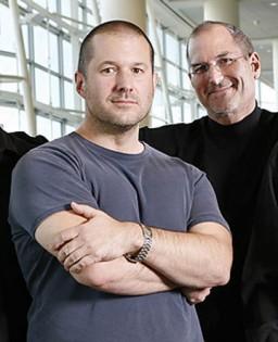 Jony Ive e Steve Jobs